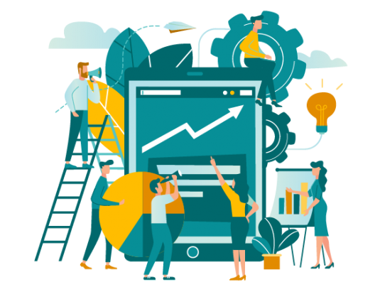 Teaser atlassian platinum solution partner enterprise demicon teamwork illustration