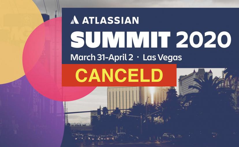 Atlassian Team Tour and Summit 2020 in Vegas abgesagt