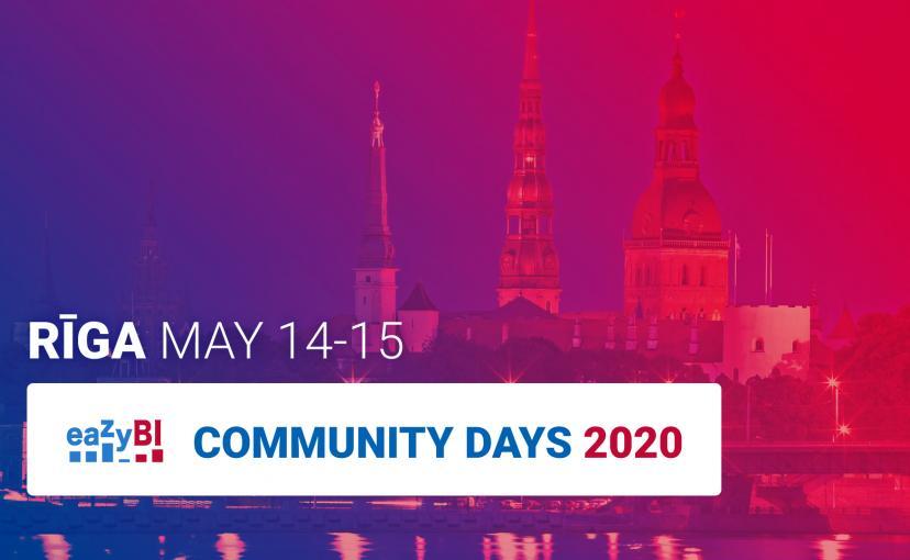 eazyBI Community Days Riga - JIra Atlassian