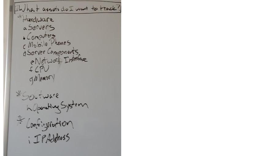 Insight – Übung – Frage 1: Welche Assets sollen getrackt werden?